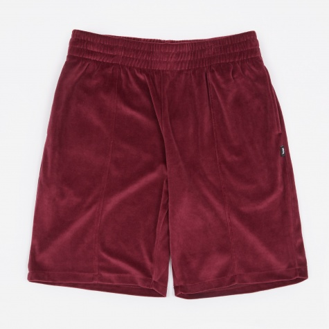 Velour Short - Burgundy
