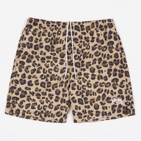 Water Short - Leopard