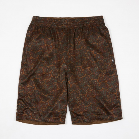 Reversible Paisley Short - Olive