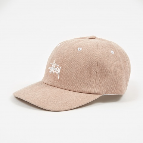 Washed Stock Low Pro Cap - Dusty Pink