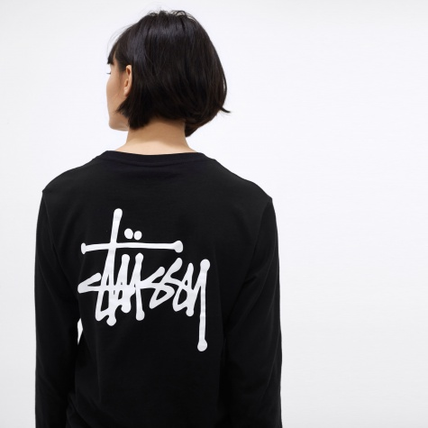 Basic L/S T-Shirt - Black