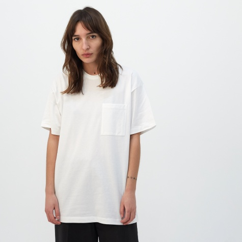 Unisex Pocket T-Shirt - Off White