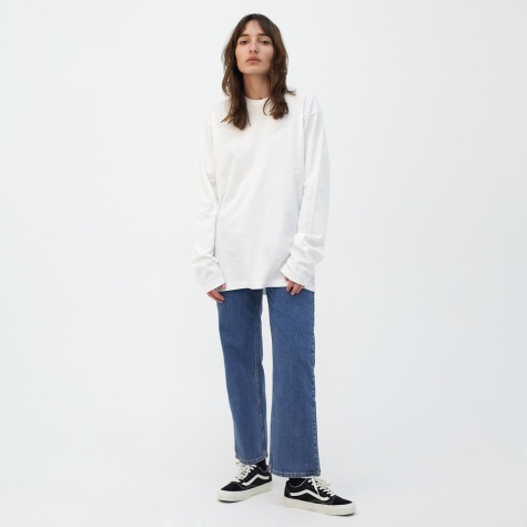 Unisex L/S T-Shirt - Off White