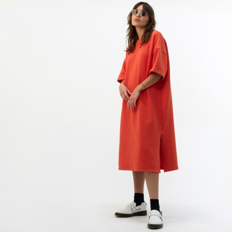Niki Dress - Red Orange