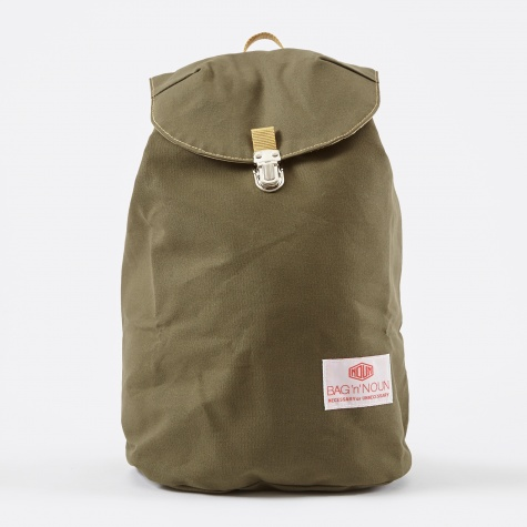 11 Canvas Napsac - Olive