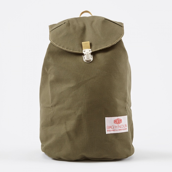Bag 'N' Noun 11 Canvas Napsac - Olive (Image 1)