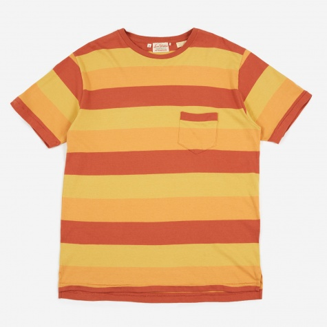 Levi's 1940s Split Hem T-shirt - Orange