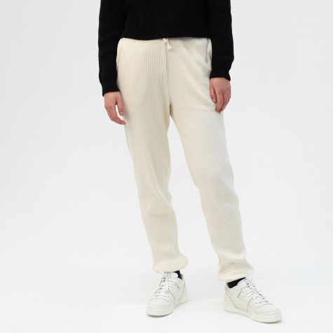 Rib Sweat Pant - Off White