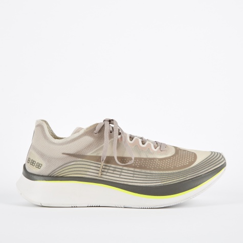 NikeLab Zoom Fly SP Running Shoe - Sepia Stone/Sonic Yellow