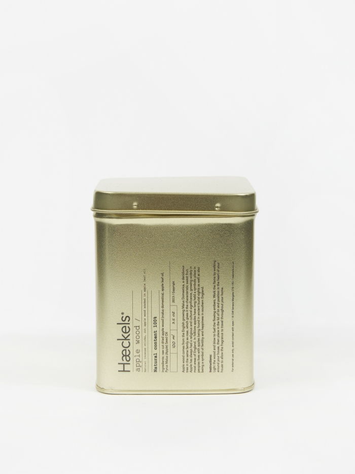 Haeckels Apple Wood Raw Incense (Image 1)