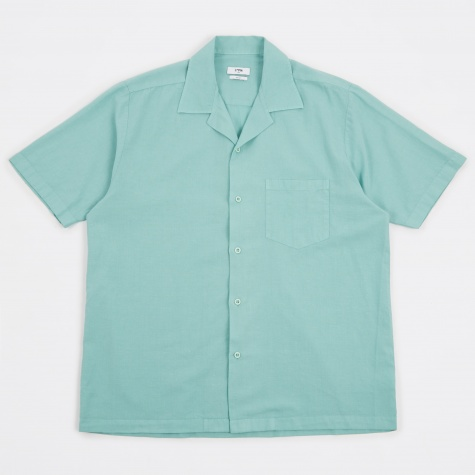 Duncan Camp Collar Shirt - Mint