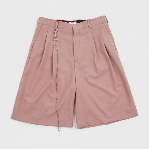 Jayson Pleated Shorts - Lavender