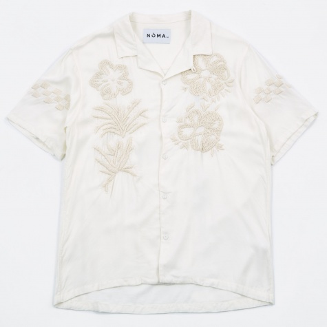 Embroidered Shirt - Off White