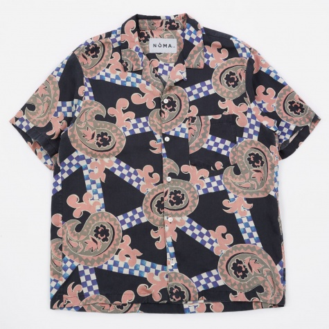 Summer Shirt - Checker Paisley/Black