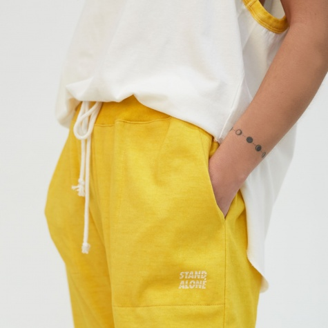 Vintage Lounge Trouser - Yellow