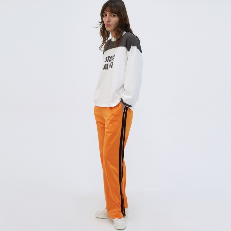 Side Stripe Trouser - Orange