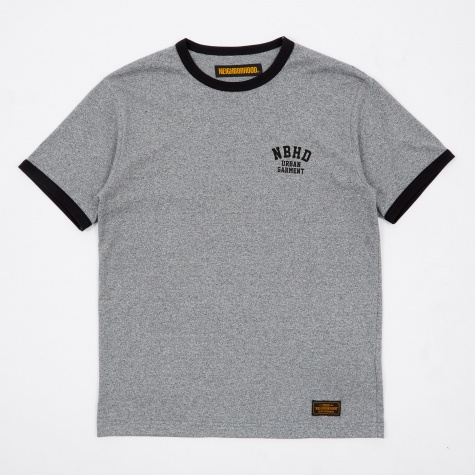 Top Ringer CE-Crew SS T-Shirt - Black