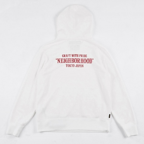PAP EC Hooded Sweatshirt - White