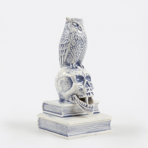 Owl-B Incense Chamber - Blue
