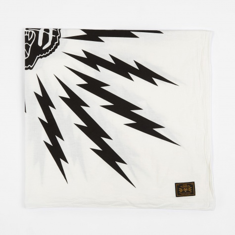 Tiger CL-Stole - White