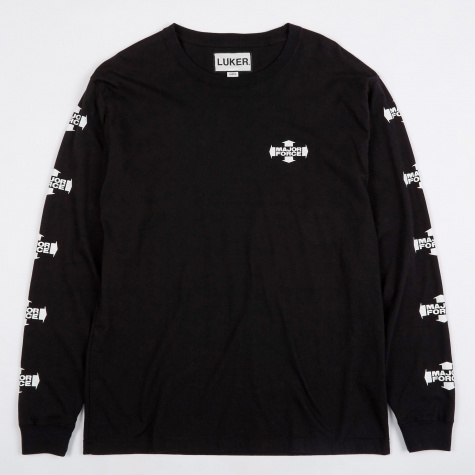 Luker by Neighborhood MF C-Tee LS T-Shirt - Black