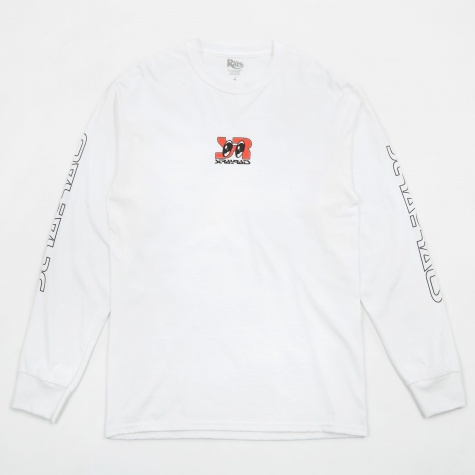 Sreyes Long Sleeve T-Shirt - White