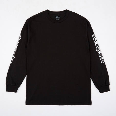 Techno Long Sleeve T-Shirt - Black