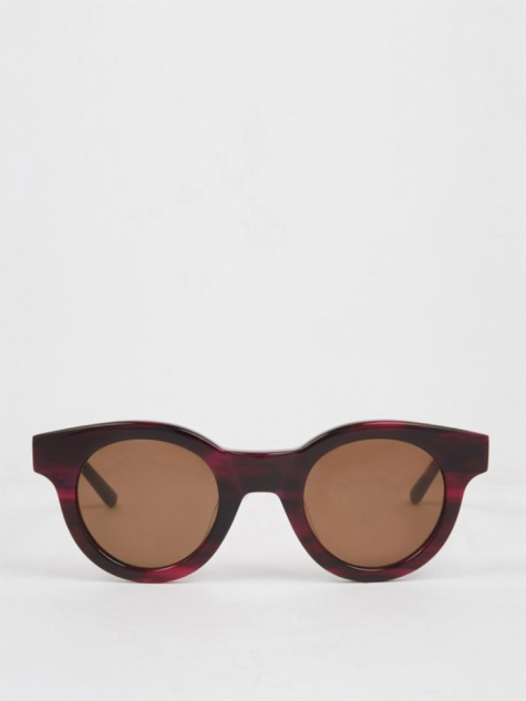 Edie Sunglasses - Purple Pattern