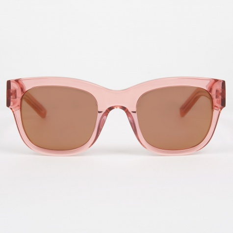 Cam'Ron Sunglasses - Transparent Peach