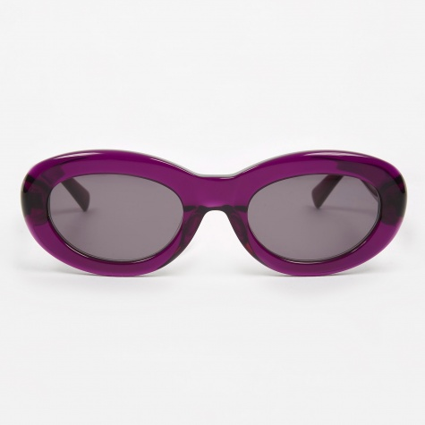 Courtney Sunglasses - Transparent Purple