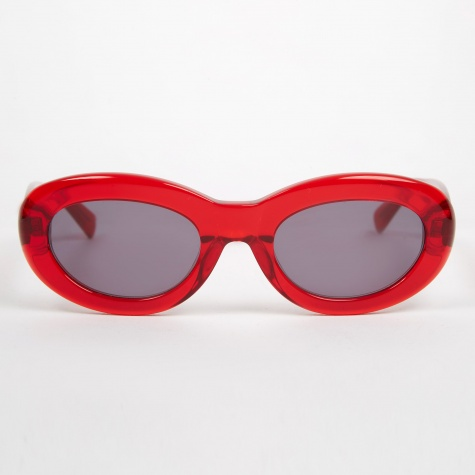Courtney Sunglasses - Transparent Red