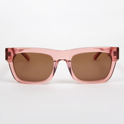 Greta Sunglasses - Transparent Peach