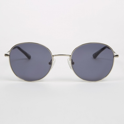 Ozzy Sunglasses - Silver Black