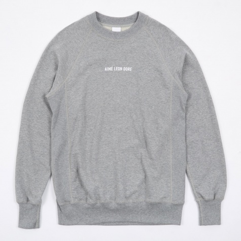 Logo Crewneck Sweatshirt - Grey Mix