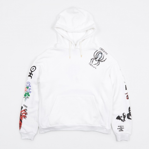Tattoo Hooded Sweatshirt - White