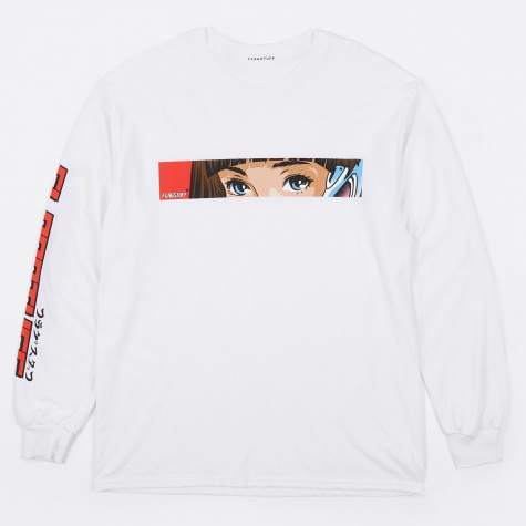Dream And Reality Long Sleeve T-Shirt - White