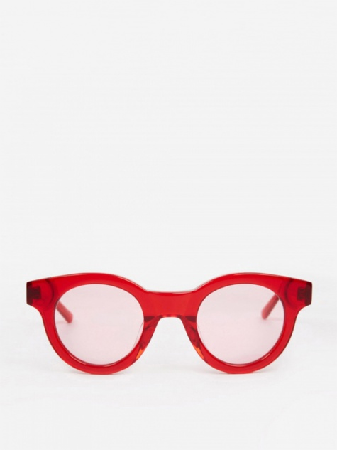 Edie Sunglasses - Transparent Red