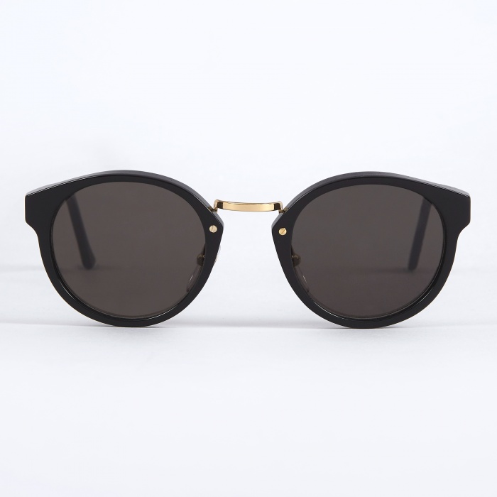 Super Panama Sunglasses - Black (Image 1)