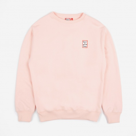 Mini Frame Crewneck Sweatshirt - Light Pink