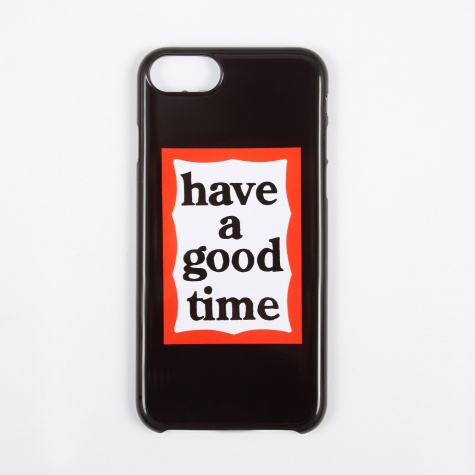 Frame 6 / 7 / 8 iPhone Case - Black