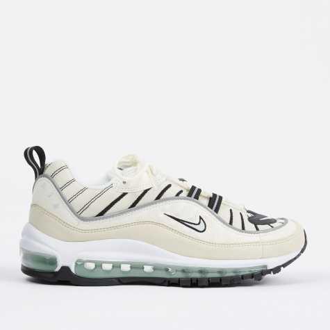 Women's Air Max 98 Shoe - Sail/Igloo-Fossil-Reflect Silver
