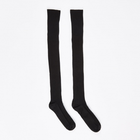 Overknee Socks - Black