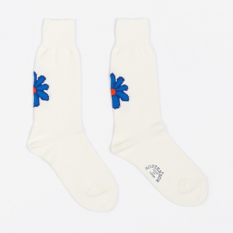 De La Sox Socks - White