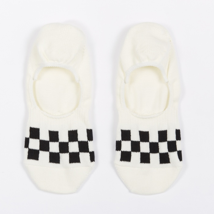 Rostersox Check Socks - White/Black (Image 1)