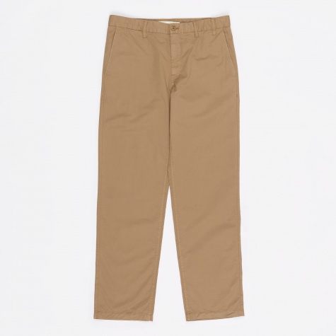Aros Light Twill Trouser - Utility Khaki
