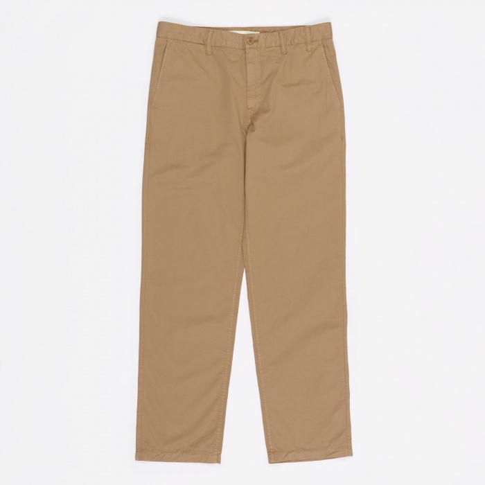Norse Projects Aros Light Twill Trouser - Utility Khaki (Image 1)