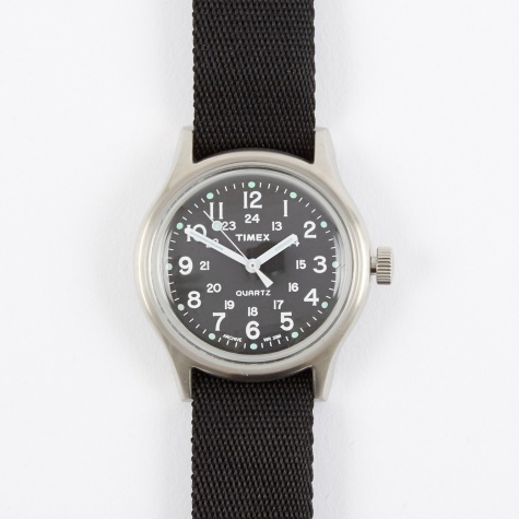 Archive Camper MK1 Metal Watch - Steel/Black