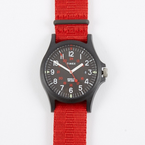 Archive Acadia Watch - Black/Black/Red