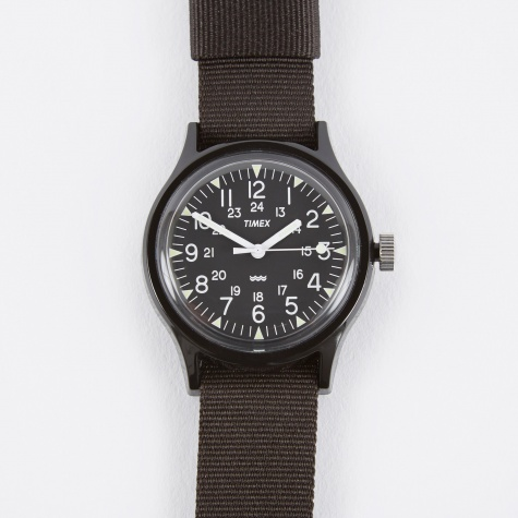 Archive Camper MK1 Watch - Black/Black