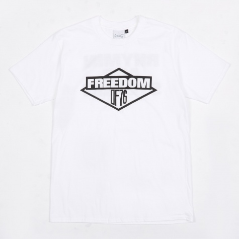 Freedom of 76 Licensed T-Shirt - White